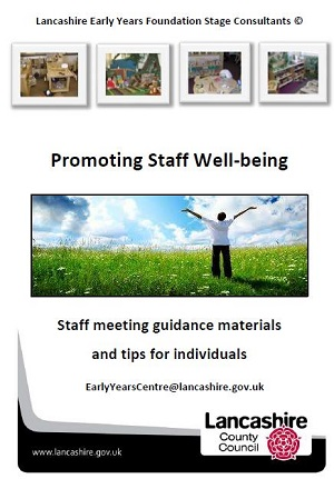 EYFS publication staff wellbeing